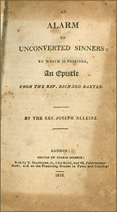 An Alarm to Unconverted Sinners by Joseph Alleine