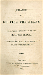 Title Page of Keeping the Heart by John Flavel (Puritan Sermon on Proverbs 4:23)